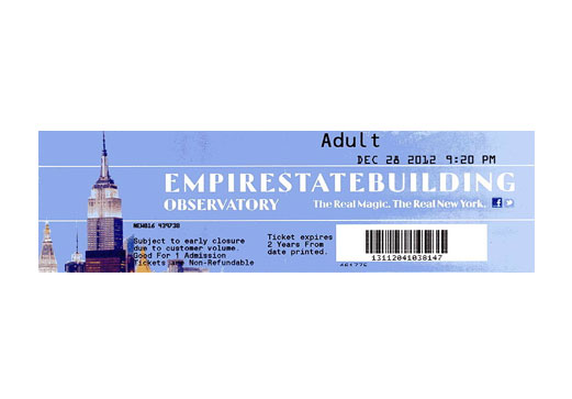Empire State Building Observation Deck Tickets