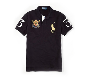 POLO RALPH LAUREN Custom Black Watch CrestCustom Black Watch Crest Polo