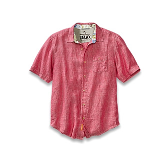 Island Modern Fit Party Breezer Short-Sleeve Shirt