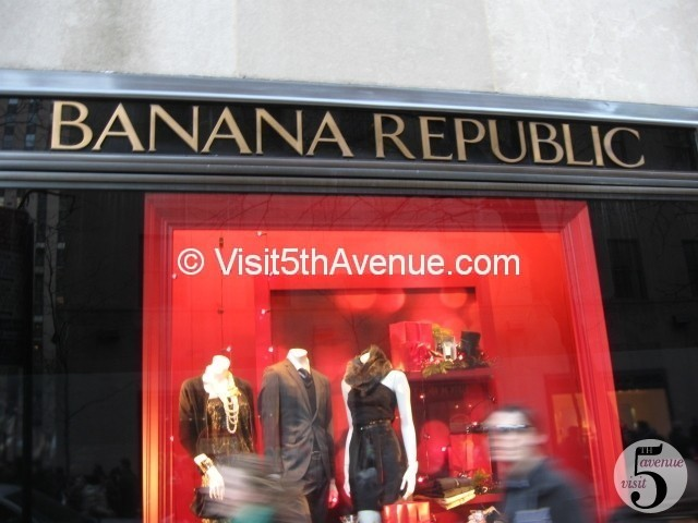 Banana Republic - Rockefeller Center