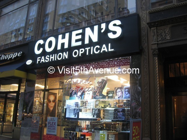 Cohen's Fashion Optical
