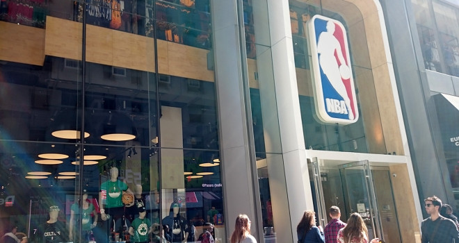 NBA Store 545 5th Avenue