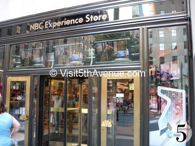 Nbc Experience Store 5th Avenue New York Gifts Store