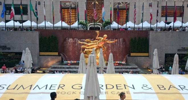 Summer Garden & Bar Rockefeller Center